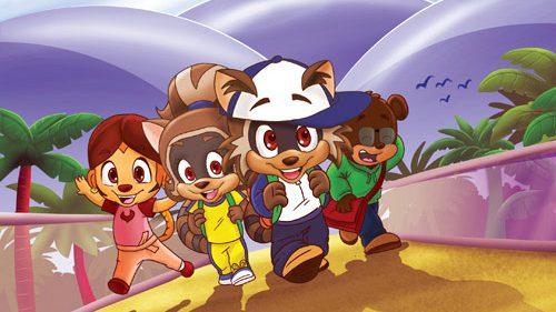 Rodney Raccoon Animated Series