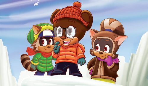 Rodney Raccoon Children's Television Show